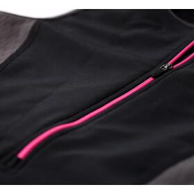 Zone3 Aquaflo Plus Trisuit Dames, black/grey/neon pink